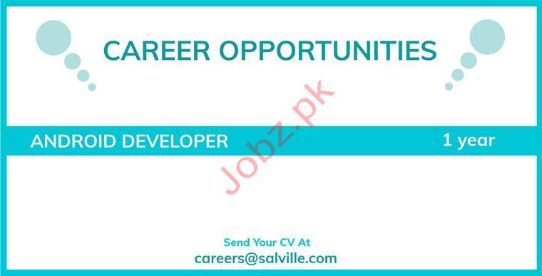 Android Developer Jobs in Rawalpindi 2019 Job Advertisement