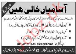 ZA Corporation Pvt Ltd Faisalabad Jobs