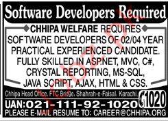 Software Developer Jobs in karachi