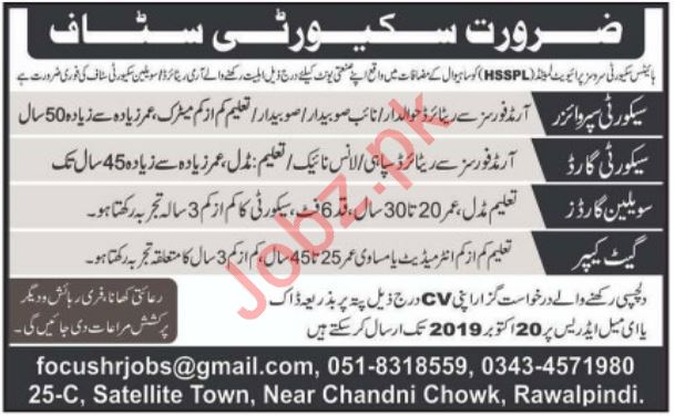 Heights Security Services Private Limited HSSPL Jobs 2019