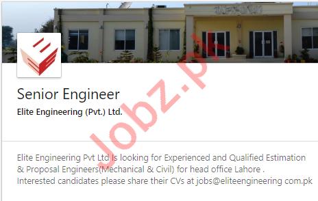 Civil Engineer Job in Lahore