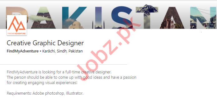 Creative Graphic Designer Job in Karachi