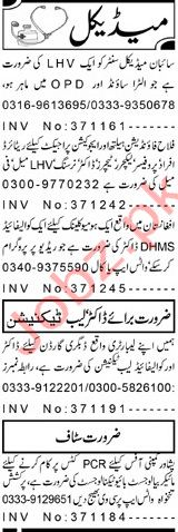 Medical Staff Jobs in Peshawar