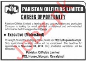 Pakistan Oilfields Limited POL Morgah Rawalpindi Jobs 2019
