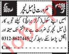 Female Teachers Jobs 2019 in Quetta
