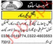 English Teacher Jobs in Lahore