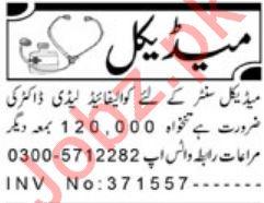 Medical Staff Jobs 2019 in Peshawar KPK
