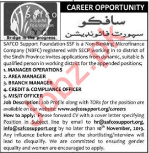 Manager Operations Area Manager Jobs in Karachi