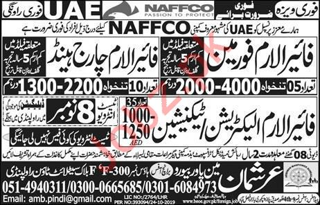 NAFFCO Company Jobs For Technical Staff in UAE