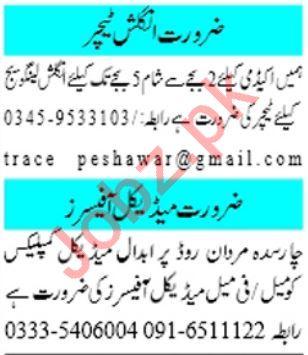 Mashriq Sunday Classified Ads 10th Nov 2019 for Medical