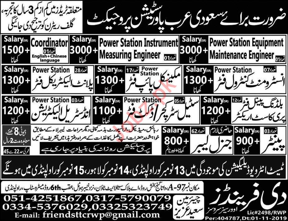 Instrument Control Fitter & Mechanical Pipe Fitter Jobs 2019