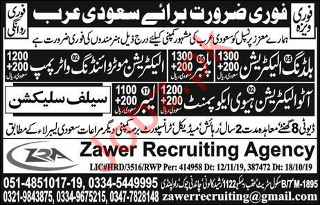Building Electrician & Auto Electrician Jobs 2019 in KSA