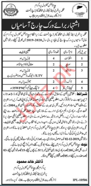 Primary & Secondary Healthcare Department Jobs in Lahore