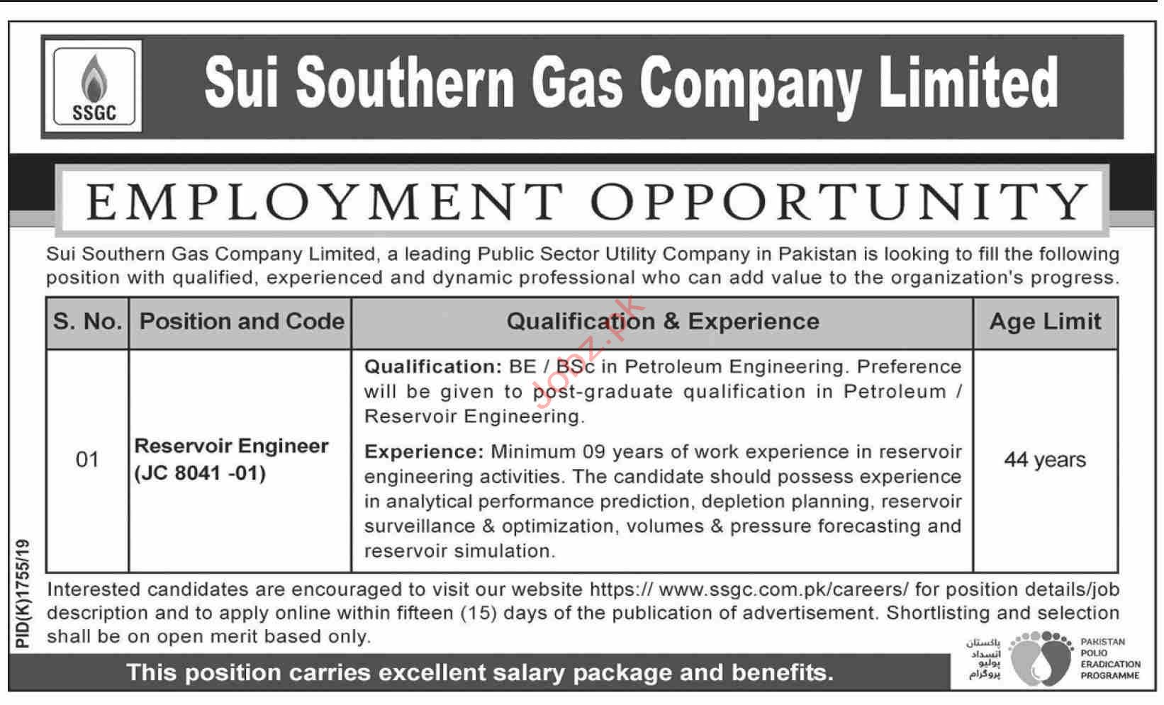 Sui Southern Gas Company Limited SSGC