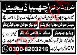 Chippa Digital Department Jobs 2019 in Karachi