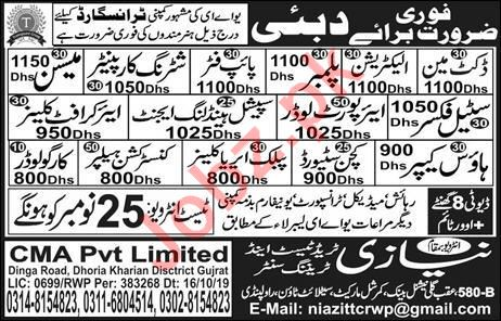 Docket Man & Airport Loader Jobs in Dubai
