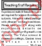 Vice Principal & Teacher Jobs 2019