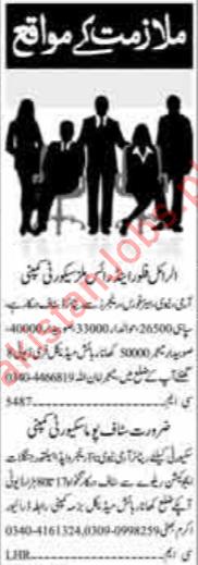 Daily Dunya Security Staff Jobs 2019 in Islamabad