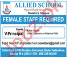 Allied School Vice Principal Jobs 2020