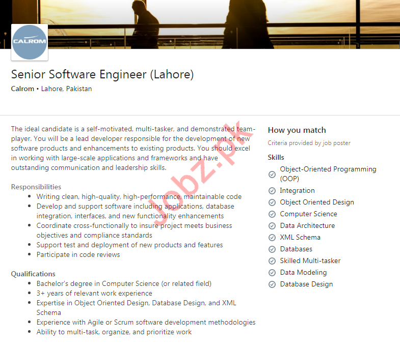 Software Engineer Jobs in Calrom