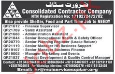 Contractor Company Jobs in Qatar