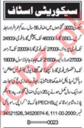 Security Supervisor & Security Guard Jobs 2019 in Karachi