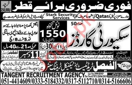 Stark Security Services Jobs 2019 in Qatar