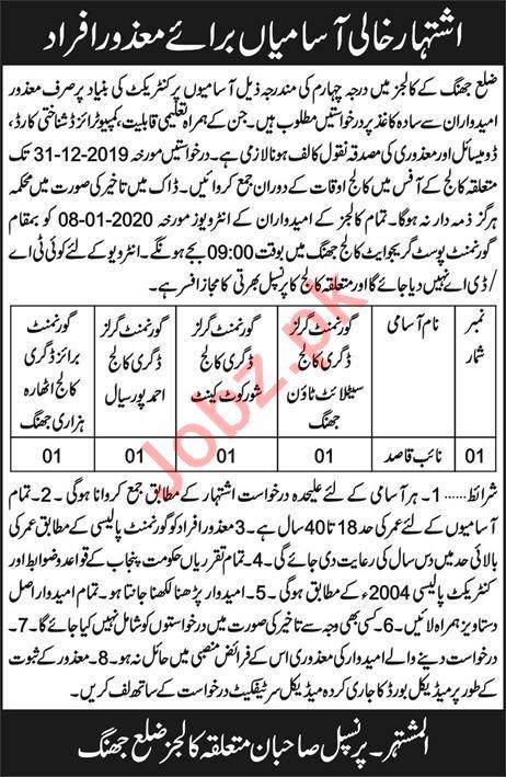 Legal Advisor Jobs in Faisalabad Development Authority FDA