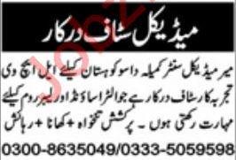 Lady Health Visitor LHV Job 2020 in Kohistan