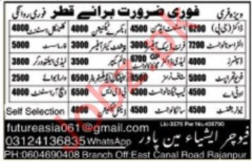 Medical Staff Jobs in Qatar