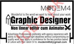Graphic Designer Job 2020 in Lahore