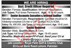 Royal Palm Golf & Country Club Jobs 2020 in Lahore