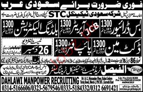 Shirka Saudi Technical Jobs in KSA