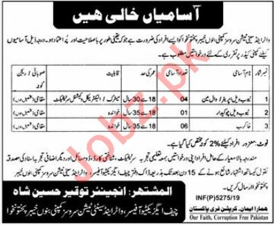 Water & Sanitation Services Company Jobs 2020 in Bannu