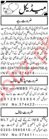 Daily Aaj Newspaper Classified Medical Ads 2020