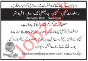 Restaurant Staff Jobs 2020 in Islamabad