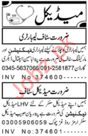 Daily Aaj Newspaper Classified Medical Jobs 2020
