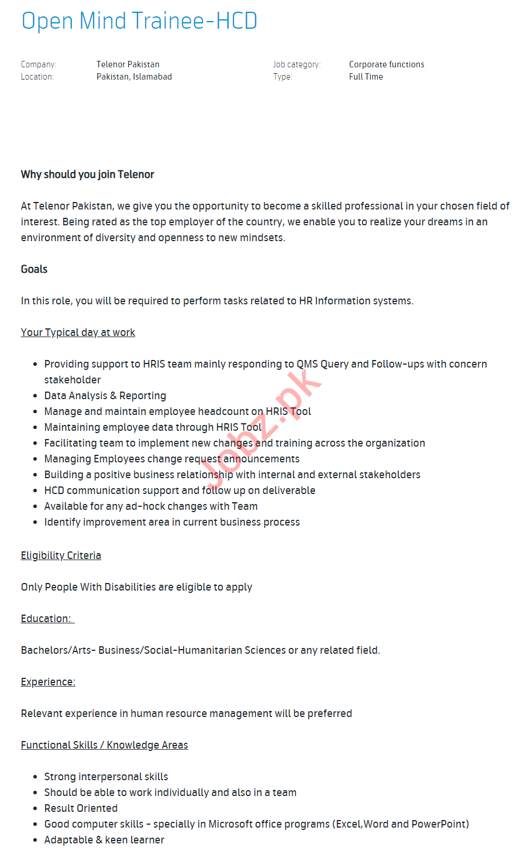 Information Security Expert & Open Mind Trainee Jobs 2020