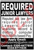 Junior Lawyers Jobs 2020 in Lahore