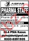 Asfar Healthcare Kasur Jobs 2020 for Pharma Staff