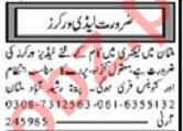 Ladies Worker Jobs 2020 in Multan