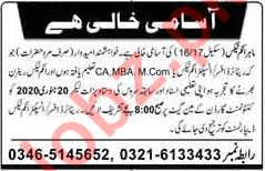 Income Tax Officer Jobs in Private Company