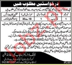 Sweeper Jobs in Punjab Teachers Foundation