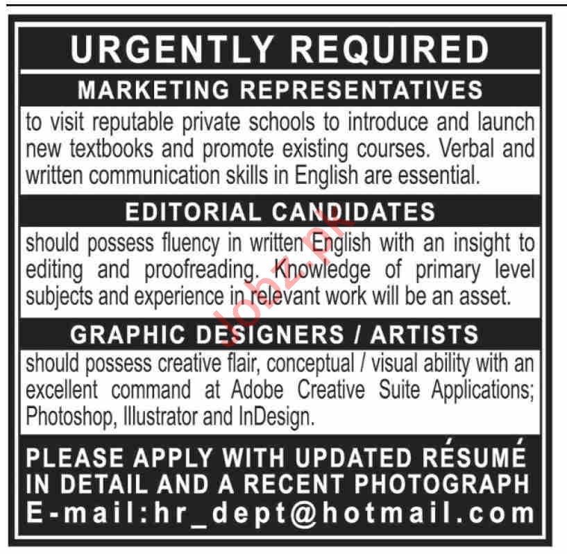 Management Staff Jobs 2020 in Karachi