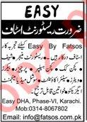 Restaurant Staff Jobs 2020 in Karachi