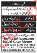 Suzuki 3S Dealership Company Management Jobs 2020