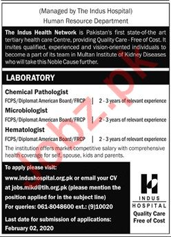 The Indus Health Network INH Medical Staff Jobs 2020