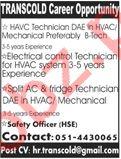 HVAC Technician & Electrical Control Technician Jobs 2020