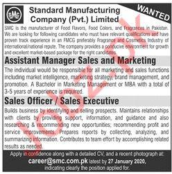 Standard Manufacturing Company Sales Staff Jobs 2020