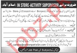 Female Sales Promoters Jobs 2020 in Islamabad